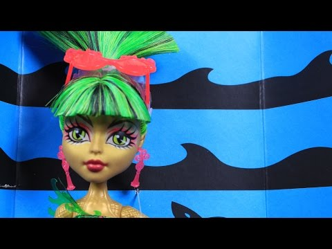 Swim Jinafire Long / плавать Дженифер Лонг - Make a Splash - Monster High / Монстер Хай - CBX54