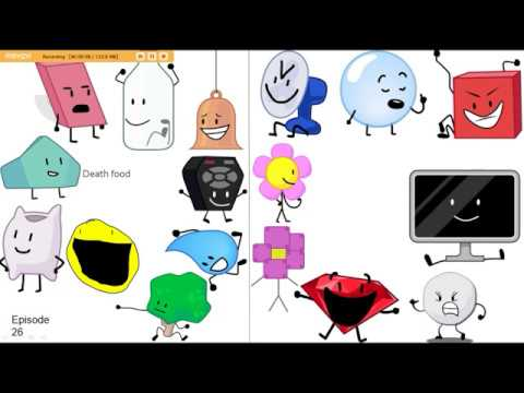 My Top 64 Battle for BFDI (BFB) contestants videominecraft ru
