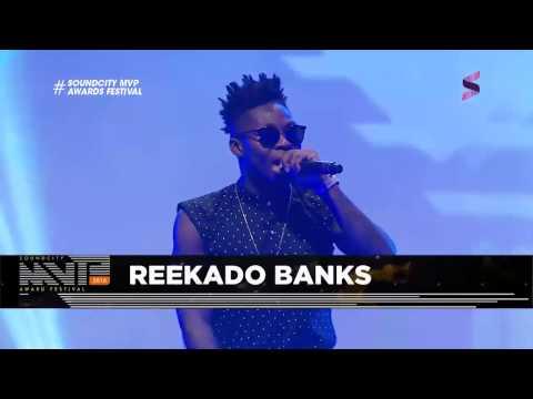REEKADO BANKS PERFORMING 'PROBLEM' AND 'OLUWA NI' AT SOUNDCITY MVP AWARDS FESTIVAL