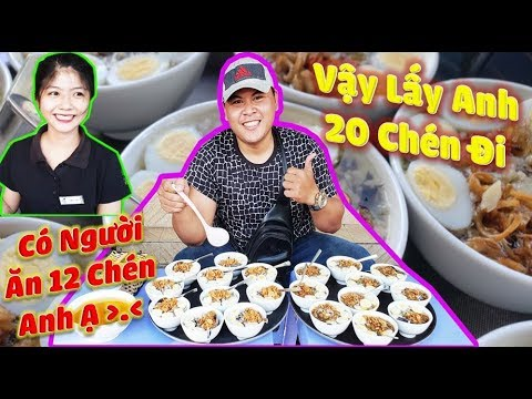 Bánh Đúc Trần Phú | Võ Sư Lộc Quất 20 Chén Bánh Đúc Và Cái Kết Trúng Gió.