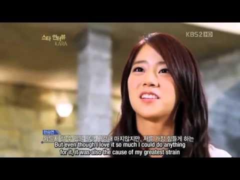 Han Seung Yeon Kara The Tough Beginning Part 1 Of 2 Youtube
