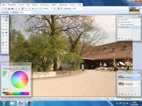 Fotobearbeitung Grundlagen 2 Pinnacle Studio 14 15 Diaschau