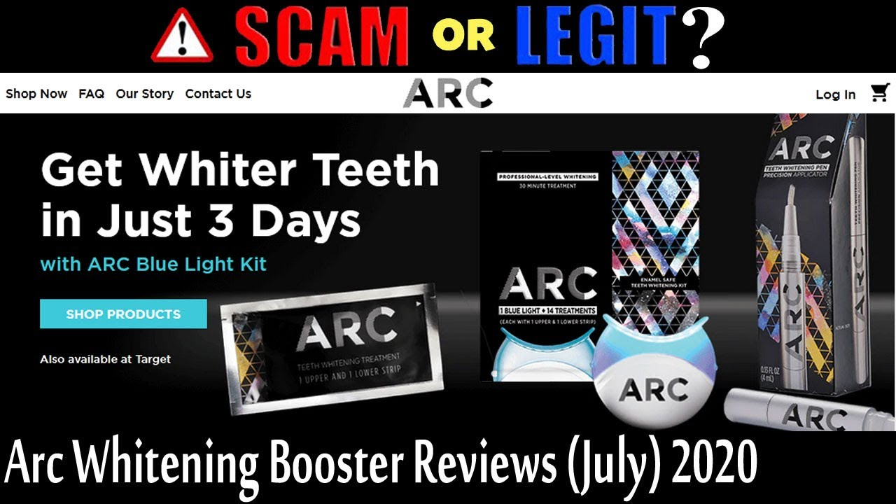Is Arc Whitening Booster Legit July Get Brief Review