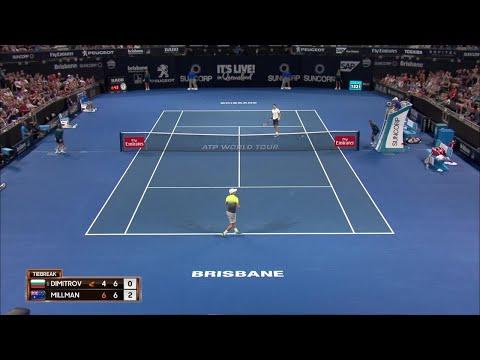 ATP Match Highlights Night Session Day 5 | Brisbane International 2018