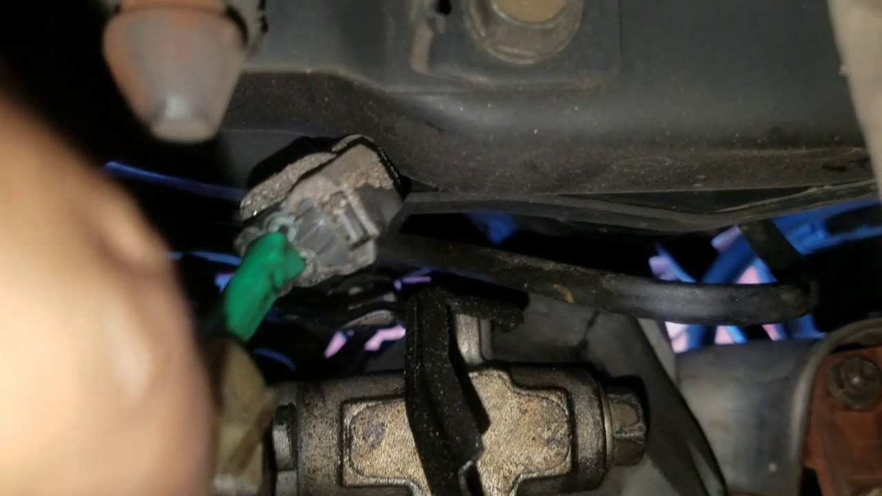 how to change upstream downstream 02 sensor acura tl [ 1280 x 720 Pixel ]