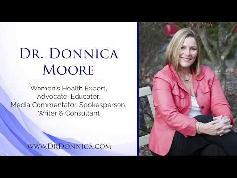 Dr. Donnica Moore Reel with Podcast