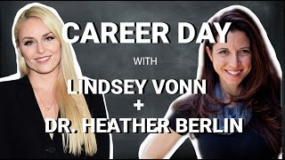 Lindsey Vonn's Virtual Career Day with Neuroscientist Heather Berlin