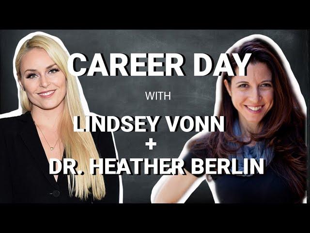 Lindsey Vonn's Virtual Career Day with Neuroscientist Heather Berlin