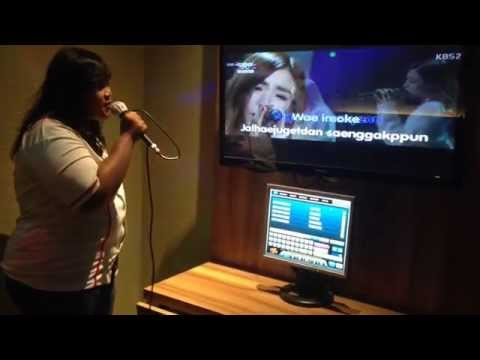 Taeyeon Tiffany - lost in love (cover) karaoke