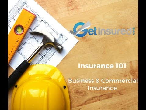 Business & Commercial Insurance 101