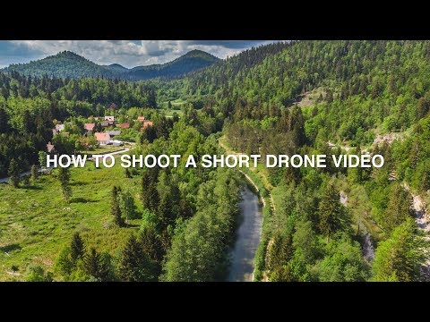 How to SHOOT a short DRONE video | Vlog N°3 with the DJI MAVIC AIR