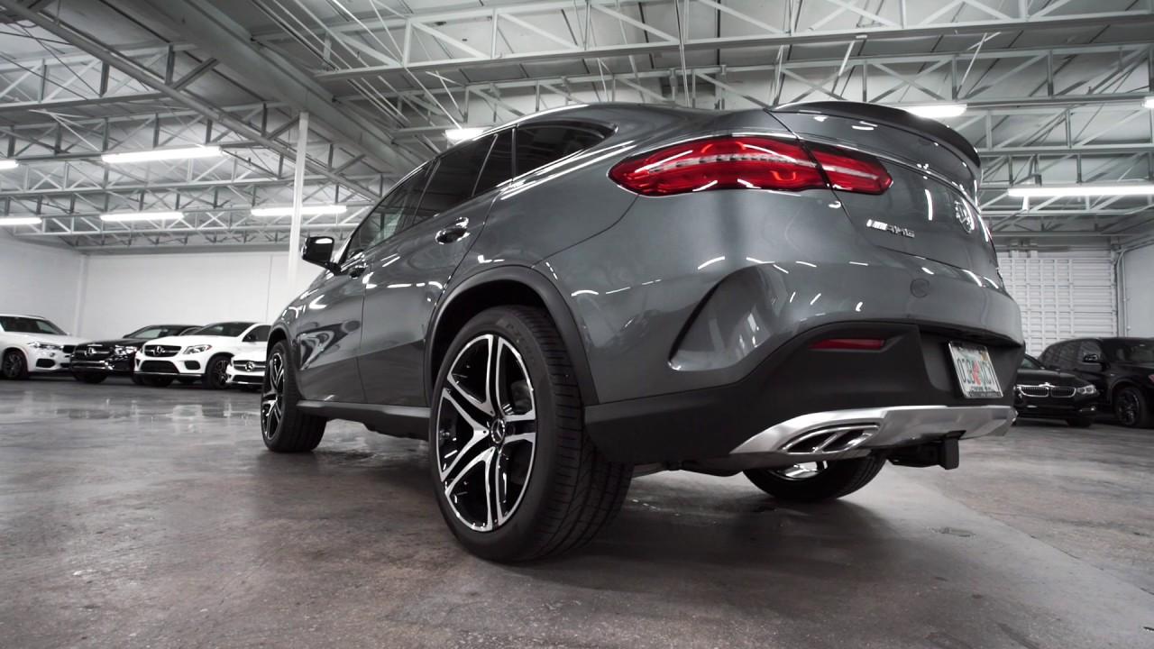 Mercedes Coupe Gle 2017 >> 2017 Grey Mercedes-Benz GLE 43 - YouTube