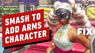 Super Smash Bros. Ultimate's Next DLC Fighter Comes From Arms - IGN Daily Fix