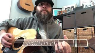 Colter Wall Tutorial & Cover - Me and Big Dave