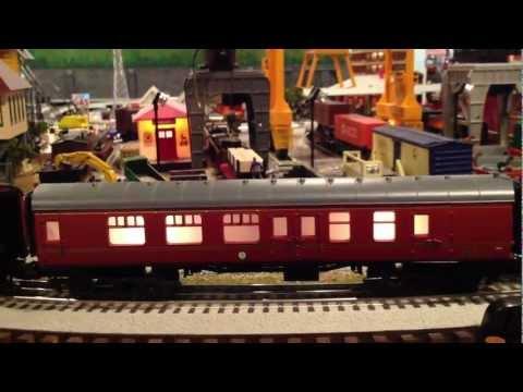 Lionel Harry Potter Hogwarts Express 7-11020 Passenger Set w/all add-on cars on Layout O-Gauge
