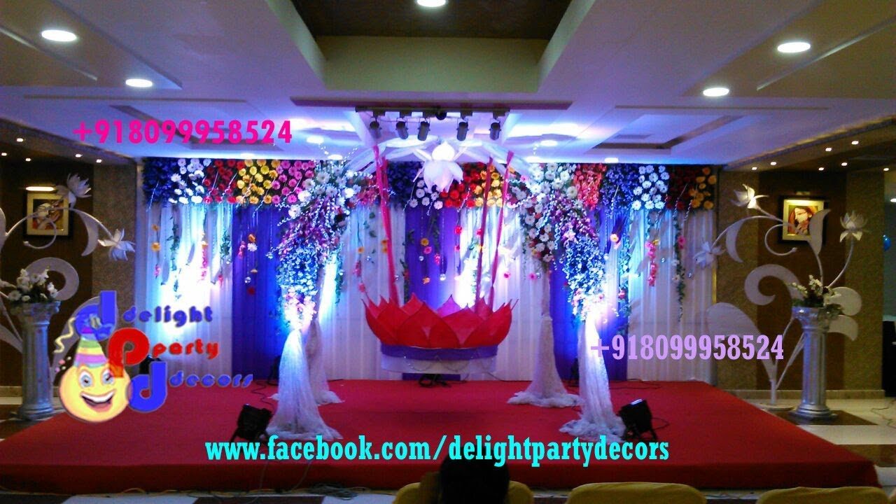 Cradle ceremony decorations in hyderabad call us for Baby cradle decoration ideas