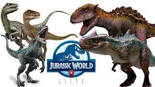 Меткий удар и Путь к победе Jurassic World Alive