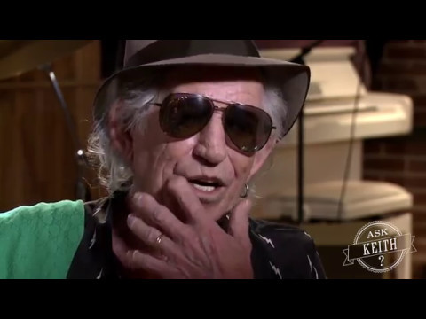 Ask Keith Richards: Why do you hardly ever use guitar pedals?