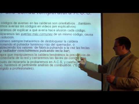 Reparar caldera gasoil video tutorial sustitucion son for Averia caldera roca