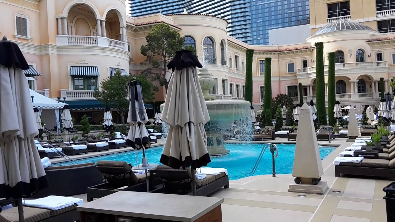 Bellagio Las Vegas Swimming Pool 30 May 2017 Youtube