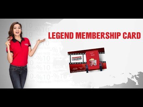 Legend Membership Card