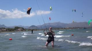 Es Barcares kitesurfen kurse auf Mallorca in May edmkpollensa com kiteschule