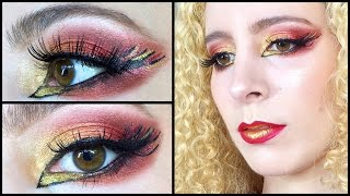 GRWM Mockingjay on Fire makeup ft Sugarpill & Inglot Thumbnail