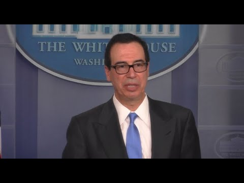 Watch live: Mnuchin discusses Iran sanctions