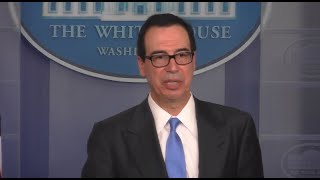 Watch live: Mnuchin discusses Iran sanctions