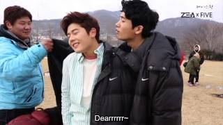 [ENG] ZE:A Five - Pabo maknaes =v= [feat. Hyungsik, Dongjun]