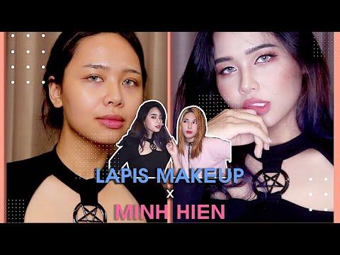 Makeup Cho Minh Hiển Thành Cô Gái Cá Tính   LAPIS MAKEUP With Minh Hien (With Subs)