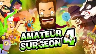 Amateur Surgeon 4 | PERFORMING SURGERY ON A MACHINE?!?! | Addictive IOS/Android Game!