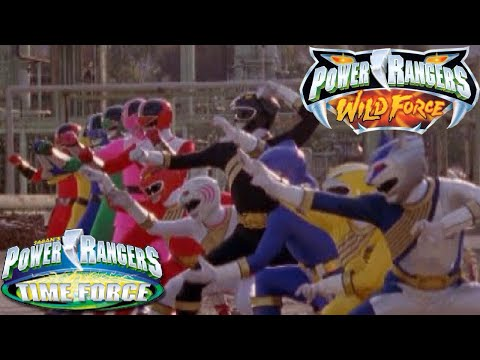 Power Rangers Wild Force/Time Force Team Up - Alternate Opening