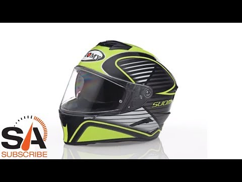 5984fec6 Suomy Stellar Cruiser Yellow Fluo Helmet at SpeedAddicts.com - YouTube