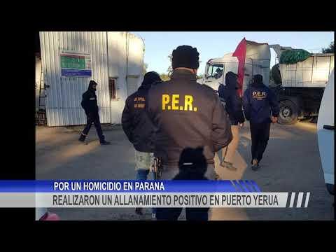 Un hombre fue detenido en un allanamiento en Puerto Yeruá