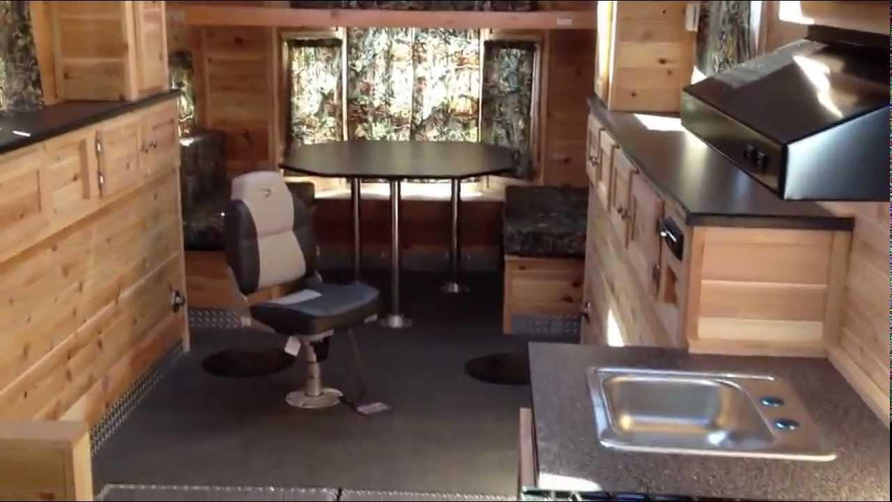 Ice House Floor Plans X on