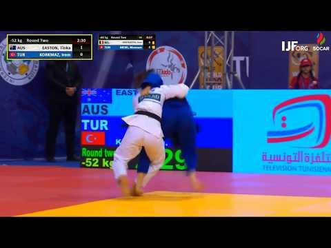 u52 AUS EASTON Tinka + TUR KORKMAZ Irem, SENIOR, 2018 TUNIS GRAND PRIX, R32