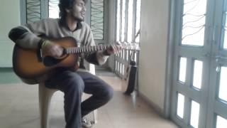 Tu jaane na - acoustic cover by Anurag Prasad