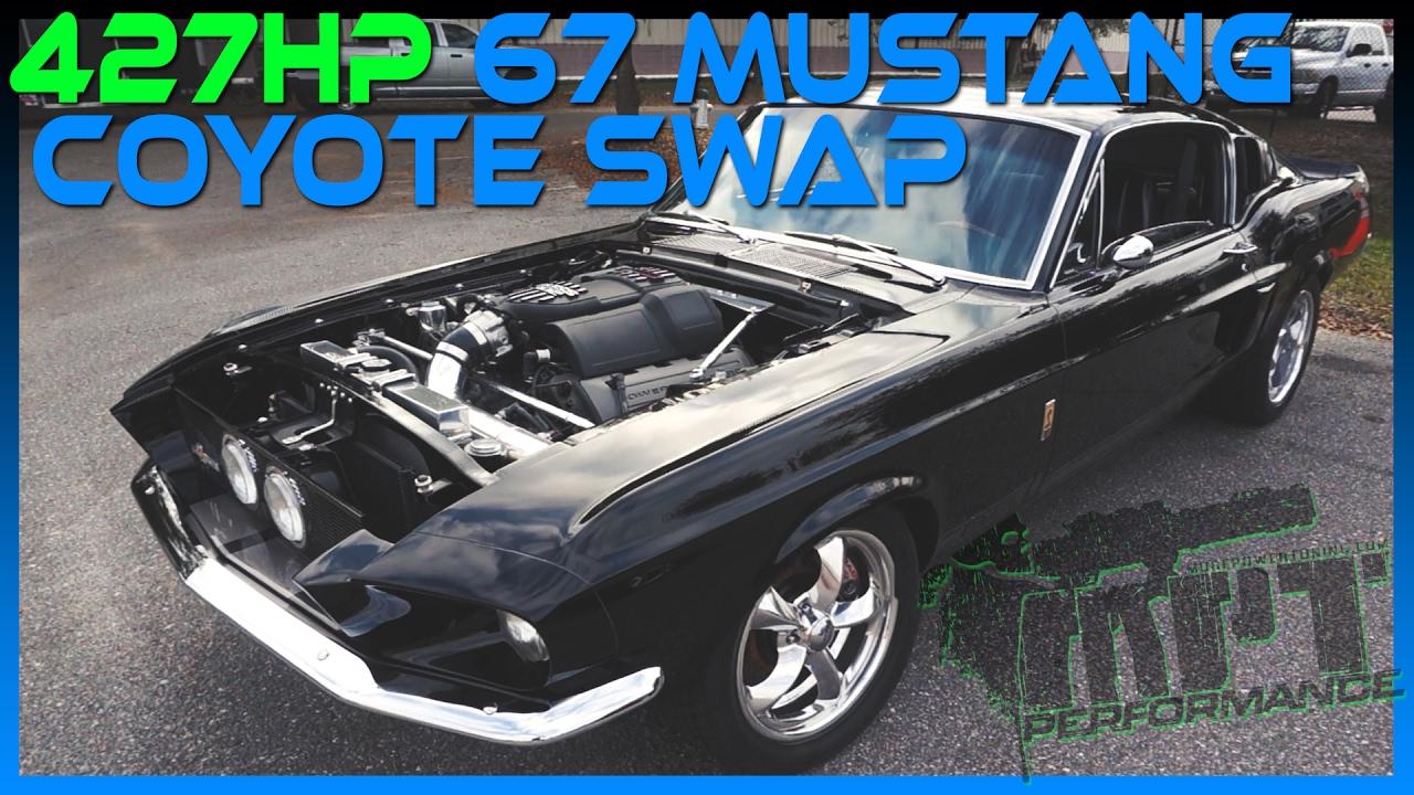 427HP '67 Mustang Coyote Swap
