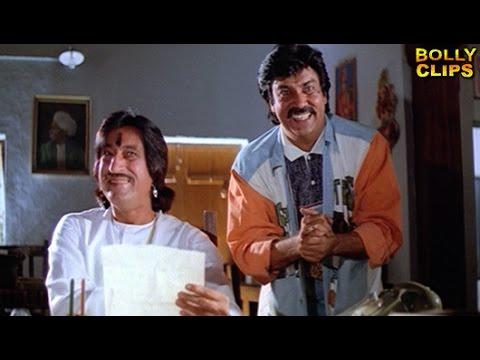Comedy Scenes | Hindi Comedy Movies |  Shakti Kapoor's Poetry Scene | Taqdeerwala | Hindi Movies