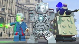 LEGO Dimensions - Cyberman Open World Free Roam (Character Showcase)