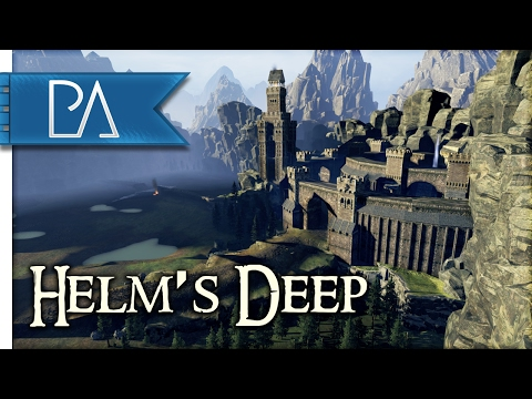 Battle for Helm's Deep: Awesome Custom Map - Total War: WARH