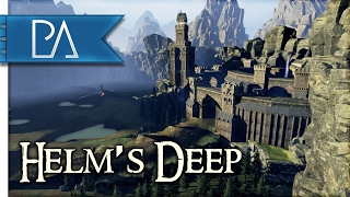 Battle for Helm's Deep: Awesome Custom Map - Total War: WARHAMMER Gameplay