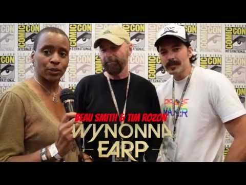 Wynonna Earp: Beau Smith & Tim Rozon at Comic Con 2016