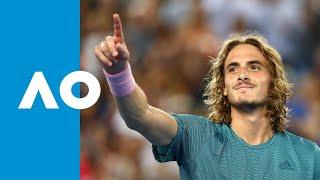 Stefanos Tsitsipas v Nikoloz Basilashvili match highlights (3R) | Austalian Open 2019