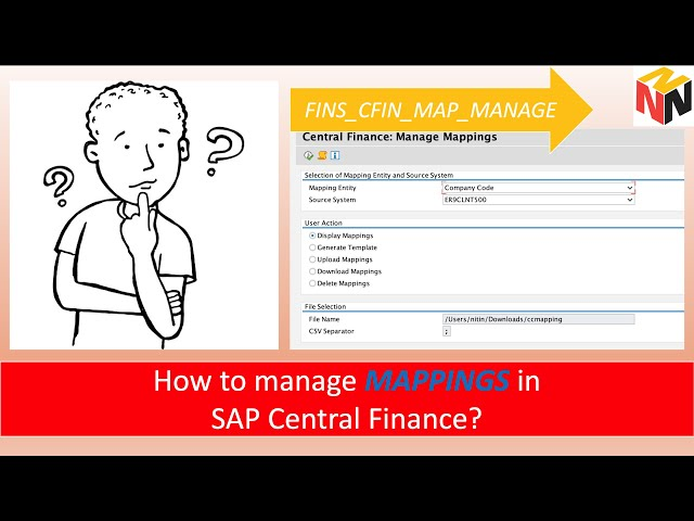 How to manage mappings in SAP Central Finance?