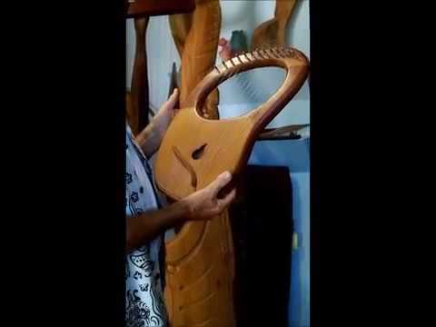 Lyre with sound box