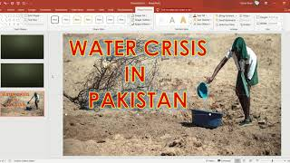 how to write on picture in PowerPoint / PowerPoint presentations