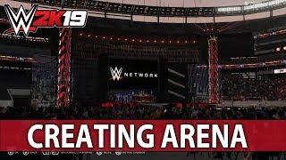 WWE 2K19 Erstellen einer Arena: WRESTLEMANIA 35