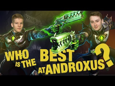 MUTU VS CREATIVS2 - WHO IS THE BEST AT ANDROXUS?